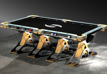 15 Unusual And Creative Pool Tables Pool Table Diy Pool Table Table