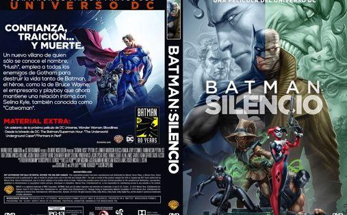 Batman Silencio Caratula Dvd Caratula Batman Poemas De Amor En Espanol