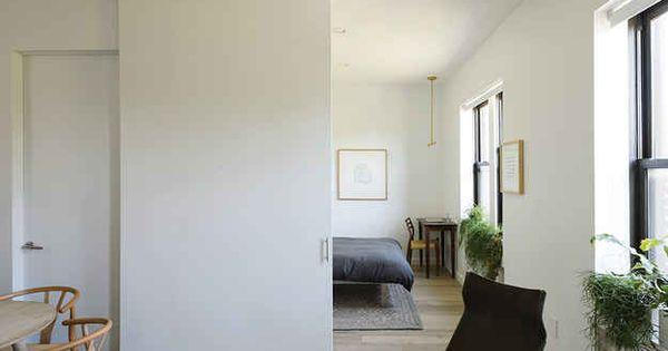 31 astuces pour maximiser l 39 espace dans un petit logement portes coulissantes petits. Black Bedroom Furniture Sets. Home Design Ideas