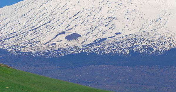 Mt. Etna - Sicily reminds me of that famous scene from the
