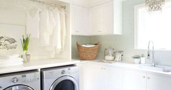 Backplash Laundry Room Tiles Design Ideas