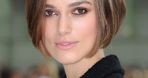 Keira Knightley Short Bob Hairstyle. Beautiful