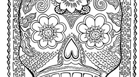 Coloriage Anti Stress Mexicain Coloriage Adulte Art