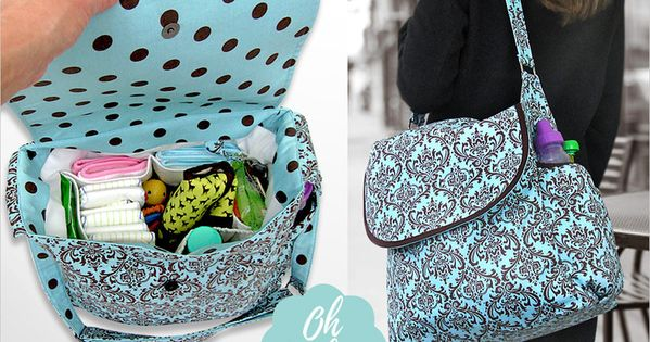 affordable ease cute and useful diy diaper bags beautiful bags and mom. Black Bedroom Furniture Sets. Home Design Ideas