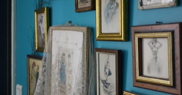 murs bleu canard d coration pinterest pandora et. Black Bedroom Furniture Sets. Home Design Ideas