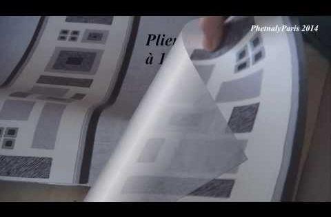 Comment Faire Un Sac Avec Des Chutes De Papier Peint Papier