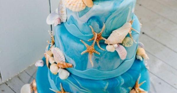 Wedding Cakes Worcester Ma Gateaux Mariage Plage 500 749 Deco Pinterest