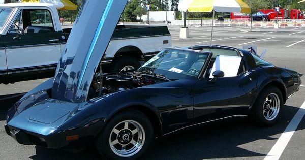 1987 Chevy Corvette 3 4 Front View Downtown Disney Car