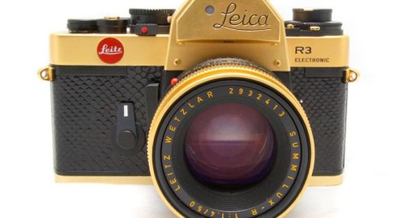 24K Anniversary Leica R3 50mm, I so want a Leica Camera. Any