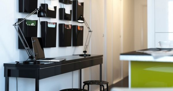 bureau domicile moderne am nagement et d coration bureau amour et essayer. Black Bedroom Furniture Sets. Home Design Ideas