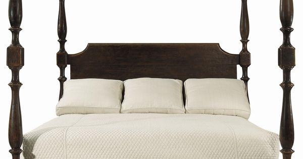 Vintage Patina King Size High Low Poster Bed By Bernhardt Master Bedroom Pinterest King