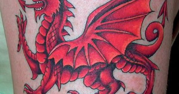 Lovely Welsh Dragon Tattoo Red Dragon Tattoo Welsh Tattoo Dragon Tattoo Designs