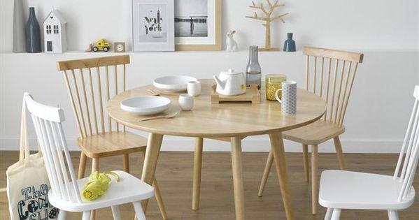 Esprit vintage et scandinave allure sobre et l gante la for Table esprit scandinave