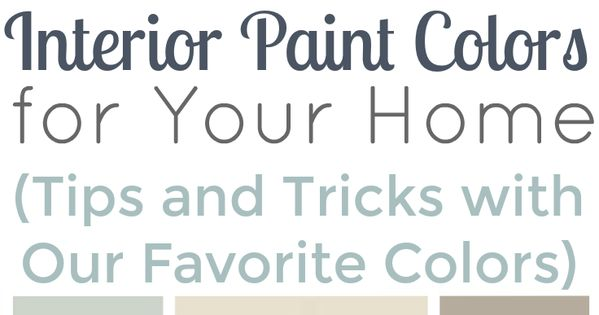 How to choose interior paint colors for your home salts for How to pick out paint colors for interior