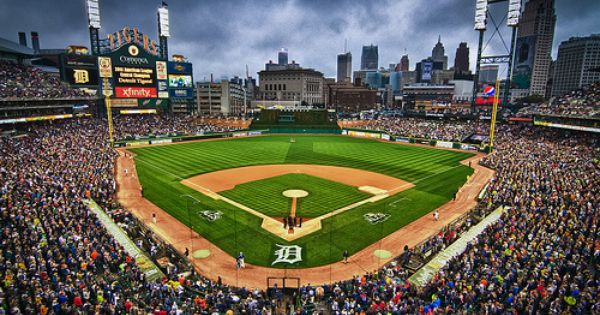 Detroit Tigers Desktop Wallpaper If Baseball Is The National Pastime Why Isn T Opening Day A Mlb Stadiums Detroit Tigers Detroit Tigers Baseball