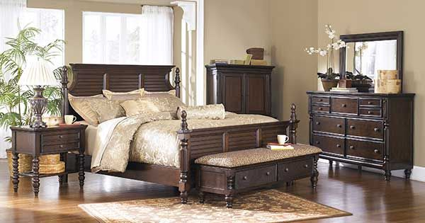 Ashley Furniture Bedroom Key Town Key Town Bedroom Group From Millennium By Ashley Bedroom Sets Furniture Queen Bedroom Furniture Sets Storage Bench Bedroom