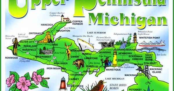 How Many Of These Upper Peninsula Attractions Have You Seen Lake Of The Clouds Is A Must Upper Peninsula Michigan Michigan Road Trip Michigan Travel