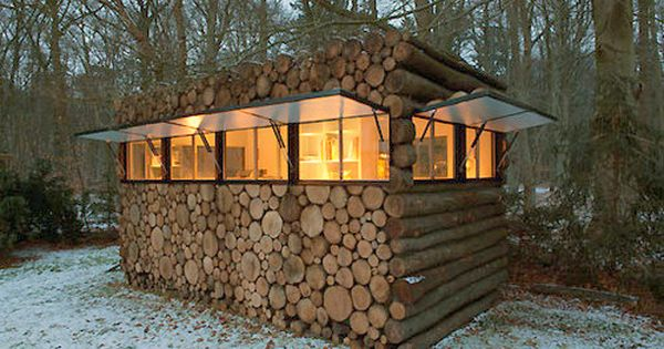 Hey That S Not How You Build A Log Cabin Rustic Cabin Design Rustic Cabin Modern Log Cabins