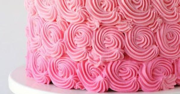p.s. I want this for my birthday cake. pink ombre cake