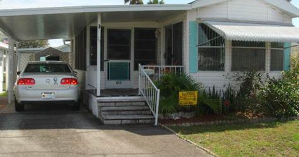 Home For Sale In Glenhaven Rv Park Zephyrhills Florida 23 500 Park Model Homes Park Models Mobile Homes For Sale