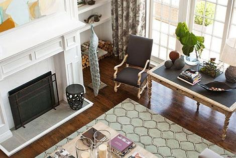 10 Tips for Styling Large Living Rooms {& Other Awkward Spaces} -