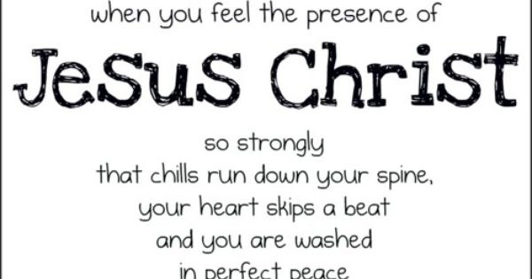 Beautiful Quote about Jesus Christ