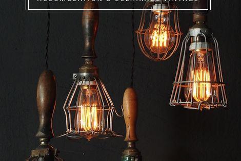 du cote du design lampe jielde projecteur cremer antiquite industrielle loft lampe. Black Bedroom Furniture Sets. Home Design Ideas