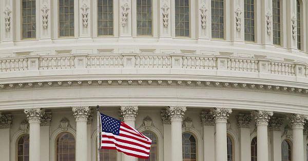capitol building flag
