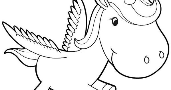 baby unicorn coloring pages Coloring Pages For Kids