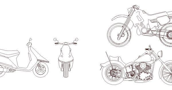 Motosiklet Cizimleri Drawings Art Humanoid Sketch