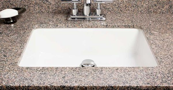 ... SINK RONA the bathroom. Pinterest Undermount sink and Sinks