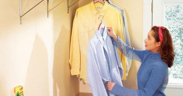 kuchenschranke clever einrichten : Waschk?che, Hemden aufh?ngen ?ber HK Haus Pinterest der ...