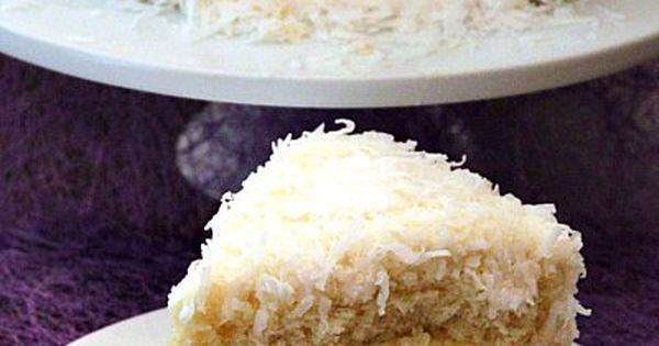 Coconut Cake - Yummy, yummy! Prospect Comida cake dreams...