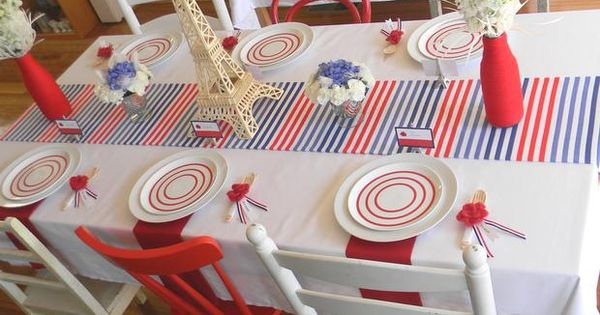 bastille day themed party