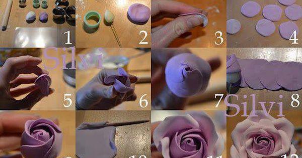 Pin On Flores De Ceramica Frio