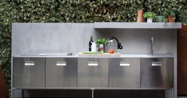 Arclinea Artusi Outdoor Modern Outdoor Kitchen Outdoor Kitchen Design Outdoor Kitchen