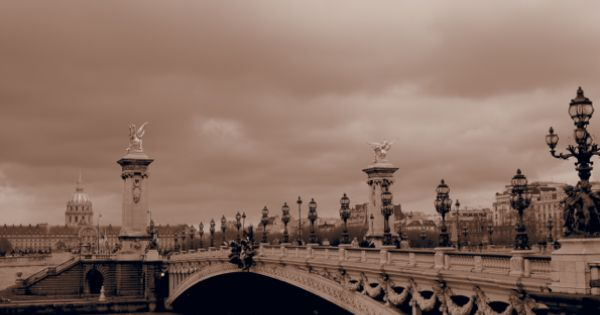 Bridge in Paris. Been here!