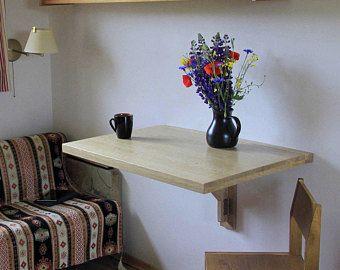 Wall Mounted Drop Leaf Table Fold Down Desk Wall Mounted Desk