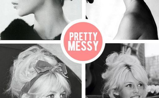 Messy Done Right :) BridgetBardot MessyHair