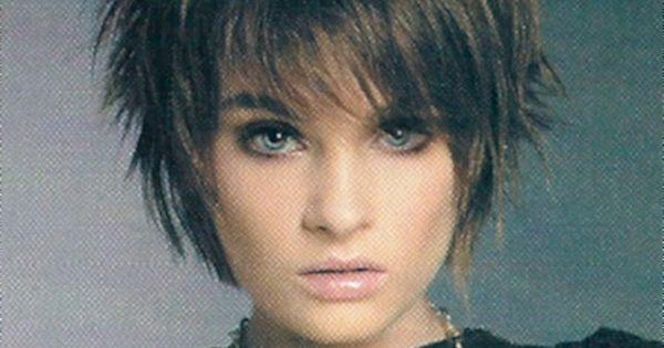 Image Detail For -Cute Sassy Short Length Layered Haircut