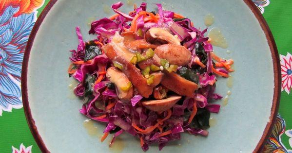 Red cabbage salad, Cabbage salad and Red cabbage on Pinterest