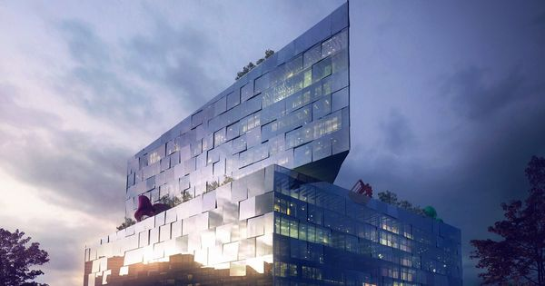 Big Bjarke Ingels Group Arch Viz Exteriors L