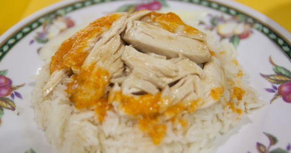 Chicken rice, Laksa and Rice on Pinterest