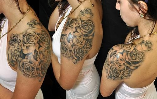 Girl Half Sleeve Tattoo Ideas Nice