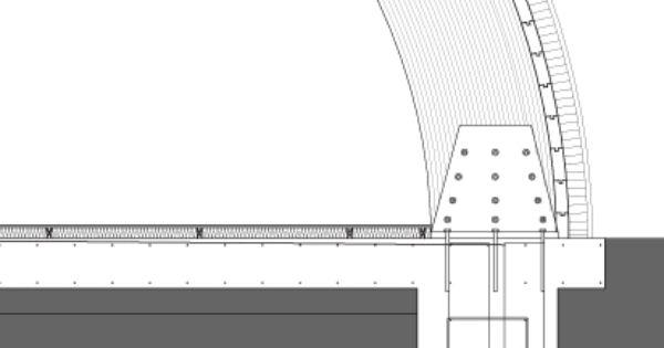 Glulam Beam Detail Use Of Glulam Beams Allows Detalles