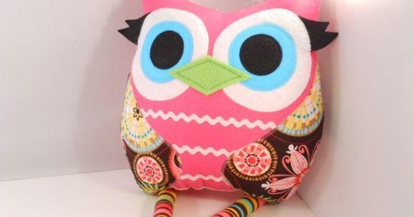 stuffed toy stuffed owl pillow owl plush handmade toys toy stuffed stuffedtoys