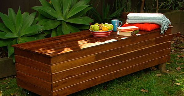 How To Make A Storage Seat Better Homes And Gardens