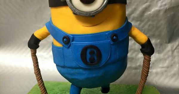 crazy cake designs by anna minion jumping rope cute