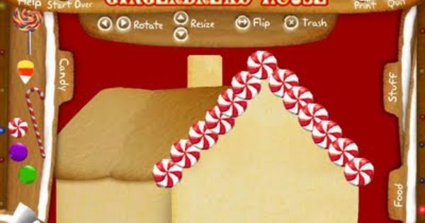 free online game design your own gingerbread house from highlights