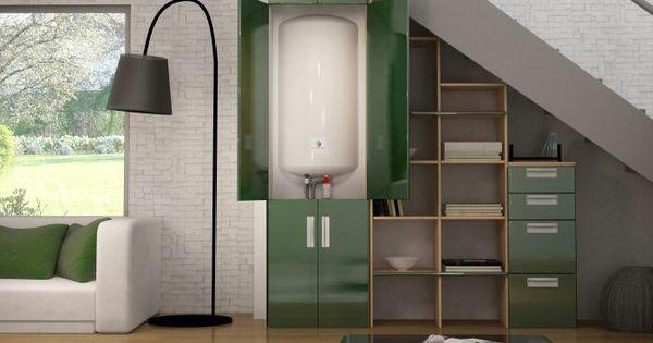 Id e pour cacher le ballon d 39 eau chaude meubles d co pinterest - Programme cuisine ikea ...
